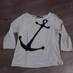 The limited 3/4 sleeve sailor shirt